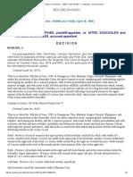 People vs Sancholes _ 110872 _ April 18,1997 _ J. Regalado _ Second Division