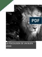 PSICOLOGÍA-LIDERAZGO