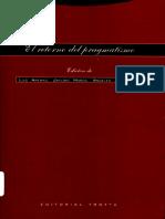 Arenas, Muñoz, Perona-El Retorno Al Pragmatismo. Putnam, Rorty, Peirce, Dewey