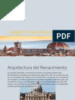 Arquitectura Renacentista y Mexicana