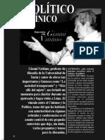 El Politico y El Cinico. Entrevista a Giovanni Vattimo