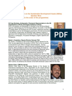 Partnership Forum SDGs_Speaker Bios