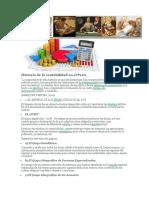 Historia de La Contabilidad en El Perú