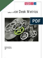 Service Desk Metrics
