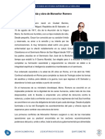 Vida y Obra de Monseñor Romero