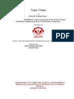 Industrial Training Report.doc