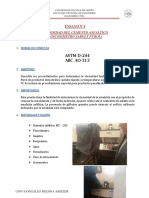 ENSAYO N°5 VISCOSIDAD DEL CEMENTO ASFALTICO (SAYBOLT)