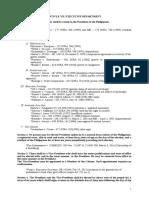 Articles VII-XII Syllabus