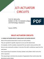 Multiactuator Circuits