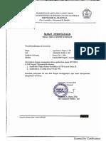 Surat Pernyataan Kepsek