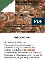 Fish Genetics (Part 1) - LEFT Review Class(CLSU)
