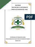 Manual Mutu Pkm Kolam PER 28 MEI 2017