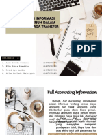 Penggunaan Informasi Akuntansi Penuh Dalam