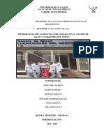 Informe Final de Practicas Centro Salud