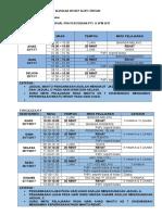 Jadual Pra Percubaan Pt3 & Spm 2017
