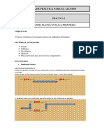 Practica 2. Soldadura Blanda-placa Perforada