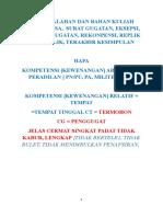 2016-Ok-kuliah Fai-smt 7-Contoh Kuasa Advokat-gugatan, Jawaban, Eksepsi, Rekonpensi Dan Provisi.doc
