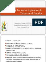 Debate Ley de Tierras ILC 03