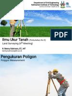 Land Surveying (6) Sipil