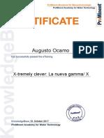 6 X-tremely Clever- La Nueva Gamma- X