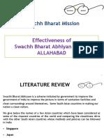 Swacch Bharat Mission Week SAURAB & GOKUL