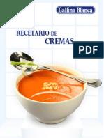 Recetario de Cremas Frias