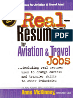 Anne McKinney-Real-Resumes for Aviation & Travel Jobs_ Including Real Resumes Used to Change Careers and Transfer Skills to Other Industries (Real-Resumes Series)-Prep Pub (2002)
