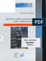 Béton Précontrainte Aux Eurocodes