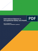 International Diploma Unit 3 Supplementary Guidance Sept 2017