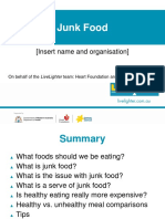 Junk Food Presentation