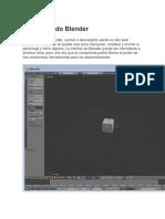 Tutorial de Blender Celular
