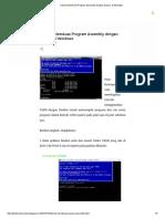 Tutorial Membuat Program Assembly dengan Dosbox di Windows.pdf