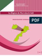 Monograpphie de La Region de Marrakech Safi