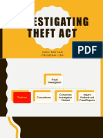 Albrecht Chapter 7 - Investigating Theft Act