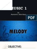 MUSIC ELEMENTS-MELODY-1