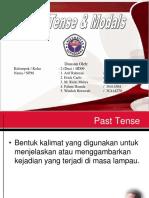 Kelompok 2_4ID09_Past Tense Dan Modals