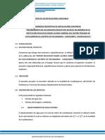 3.5. Memoria Descriptiva Inst Sanitarias