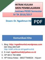 Kontrak Kuliah Asesmen Pembel Pgsd Gnp 2016 2017