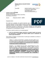 Concepto 122589 Del 28 de Octubre de 2009. Licencia de Intervención y Ocupación Del Espacio Público