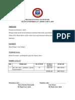 Program Panitia Matematik