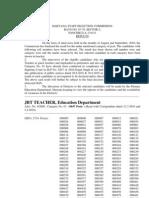Jbt Results