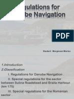 Regulations for Danube Navigation