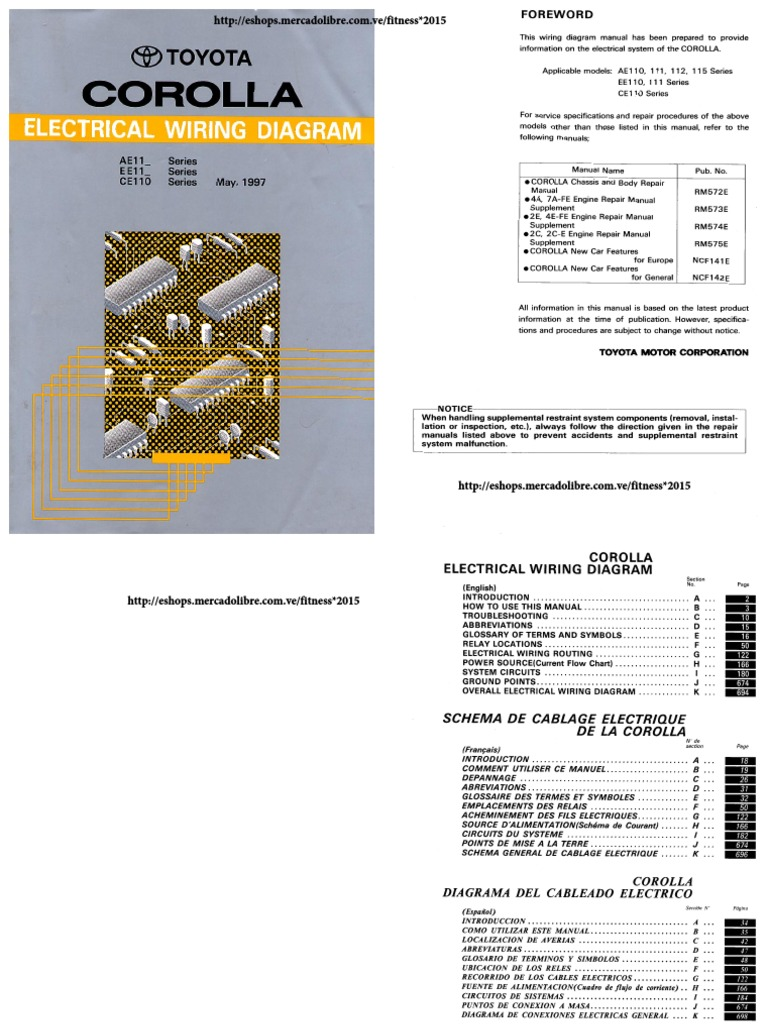 Corolla SAPITO 1997 Electrical Wiring Diagram on motor chart, operation chart, connectors chart, assembly chart, wheels chart, trim chart, wire chart, foundation chart, electrical chart, roof chart, housing chart, power chart, construction chart, design chart, maintenance chart, service chart, go chart, networking chart, valves chart, coil chart,