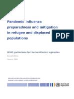 WHO Clinical Management 0f Avian Influenza