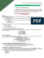 M21 - Medidas e Diluição de Drogas