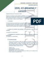 Energizer Ice Breaking Juegos Dinamicas