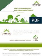 La contribución Ambiental de la Plantaciones comerciales Nov 2018