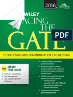 Anil Kumar Maini, Varsha Agrawal, Nakul Maini-Wiley Acing the GATE Examination for Electronics and Communication Engineering-Wiley