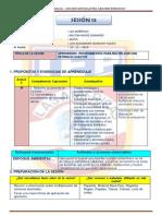 MODELO DE SESIÓN DE CLASES SEXTO DE PRIMARIA