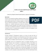 Contaminacion Acustica en La Universidad Peruana Union
